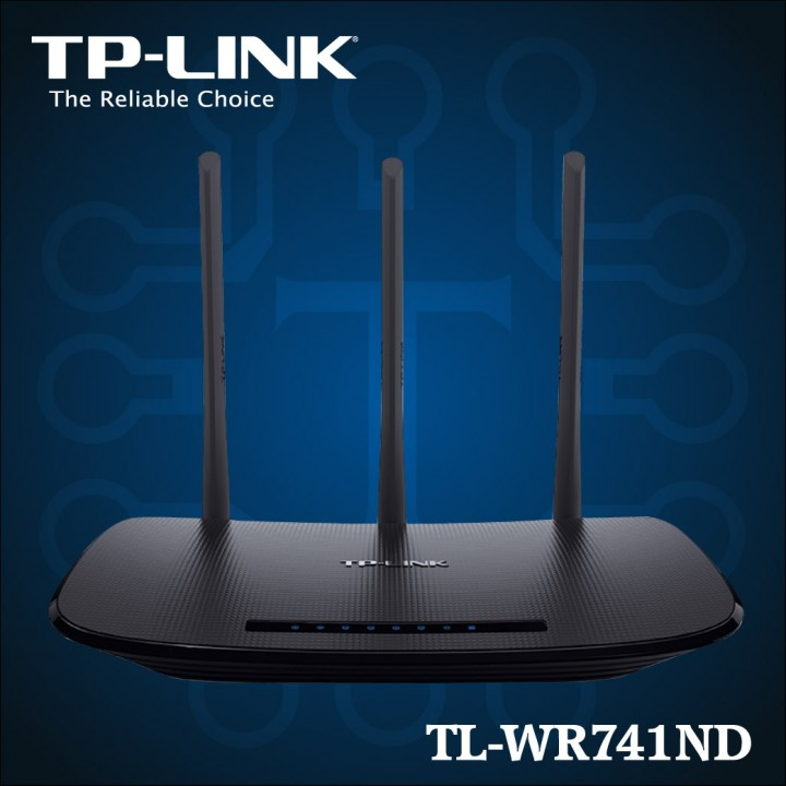 TL-WR941ND - 450Mbps Wireless N Router-01