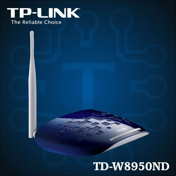 TD-W8950N - 150Mbps Wireless N ADSL2 + Modem Router