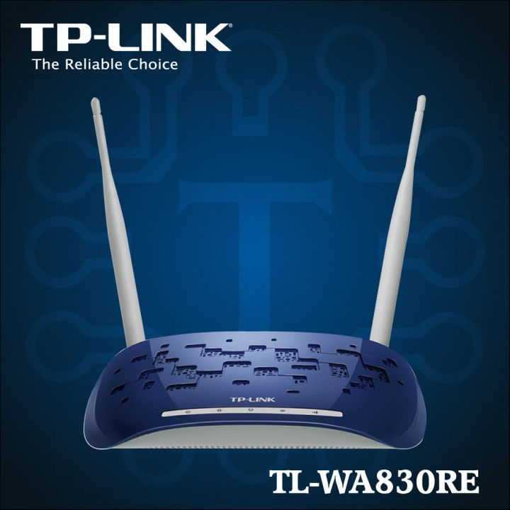 TL-WA830RE - 300Mbps Wireless N Range Extender-01