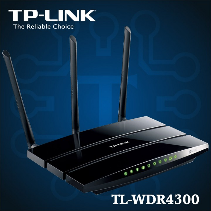 TL-WDR4300 - N750 Wireless Dual Band Gigabit Router-01
