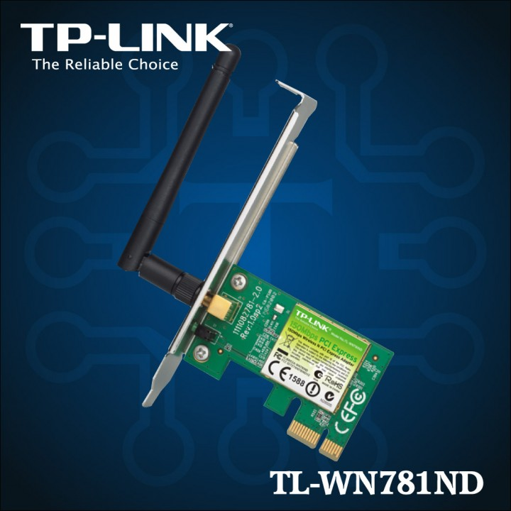 TL-WN781ND - 150Mbps Wireless N PCI Express adaptador-01