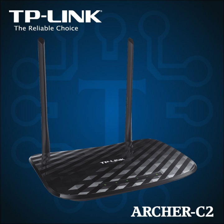 TP-LINK - Dual Band Wireless AC750 Gigabit Router